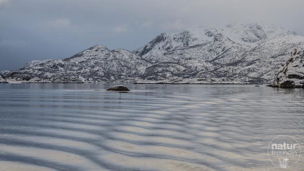 unterwegs im Trollfjord, Lofoten