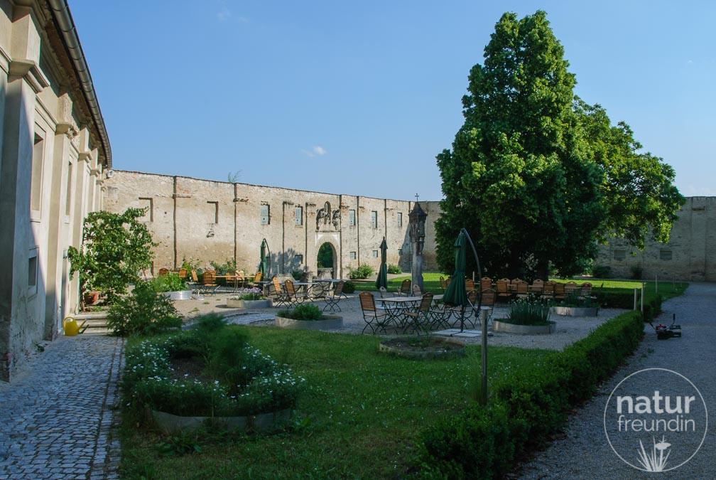 Der Klostergarten von Pernegg