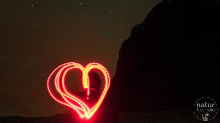 Lichtmalerei auf den Lofoten