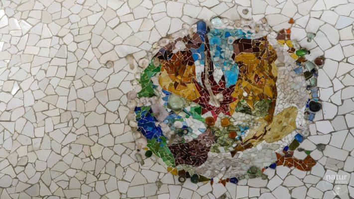 Mosaik Markthalle Park Guell