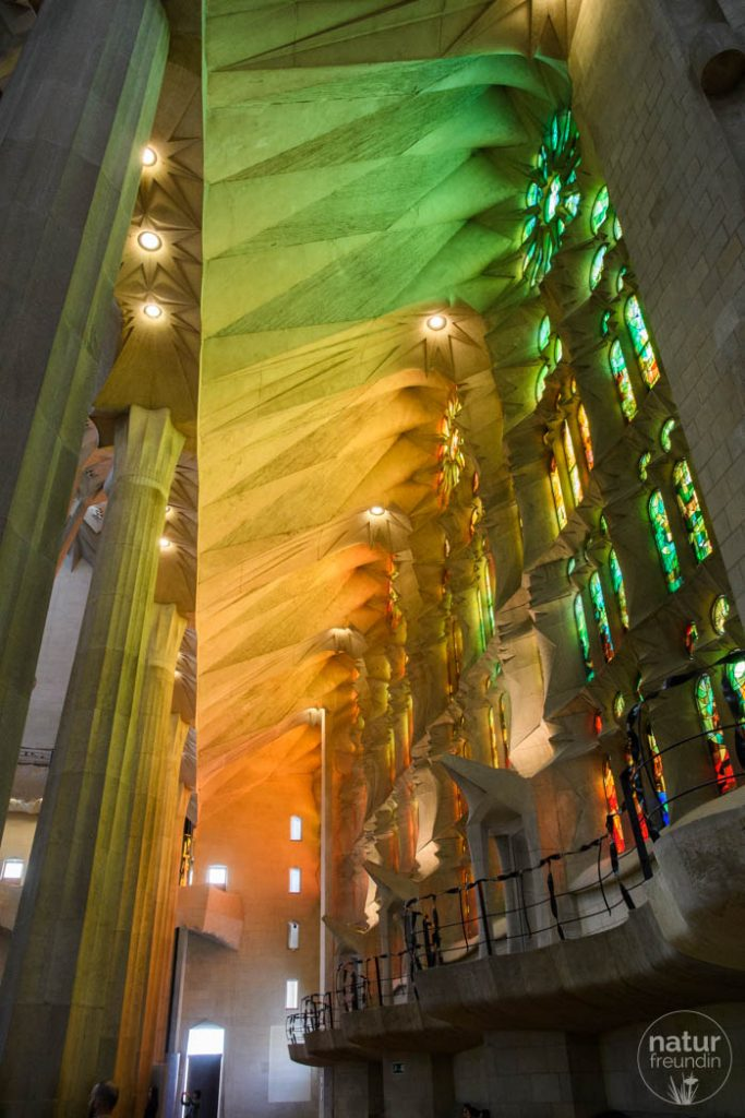 Seitenschiff Sagrada Familia