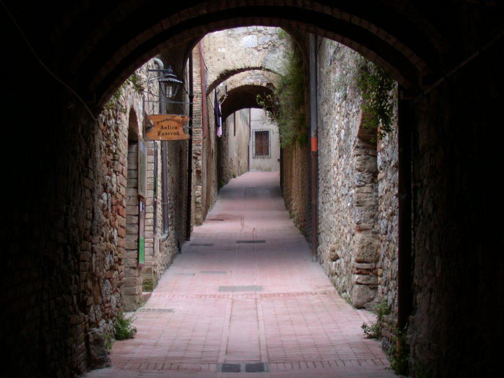Seitengasse San Gimignano