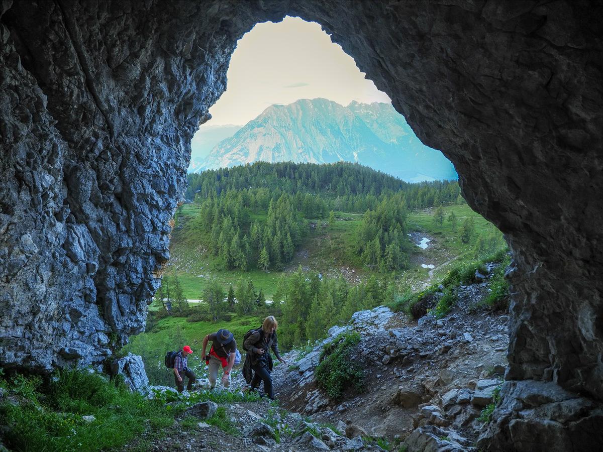 Aufstieg auf den Traweng © Ewald Neffe