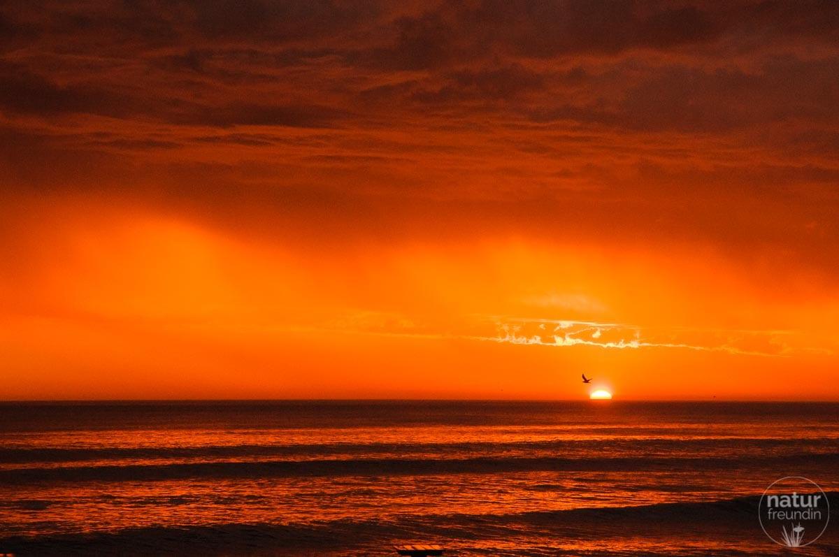 Sonnenuntergang Swakopmund