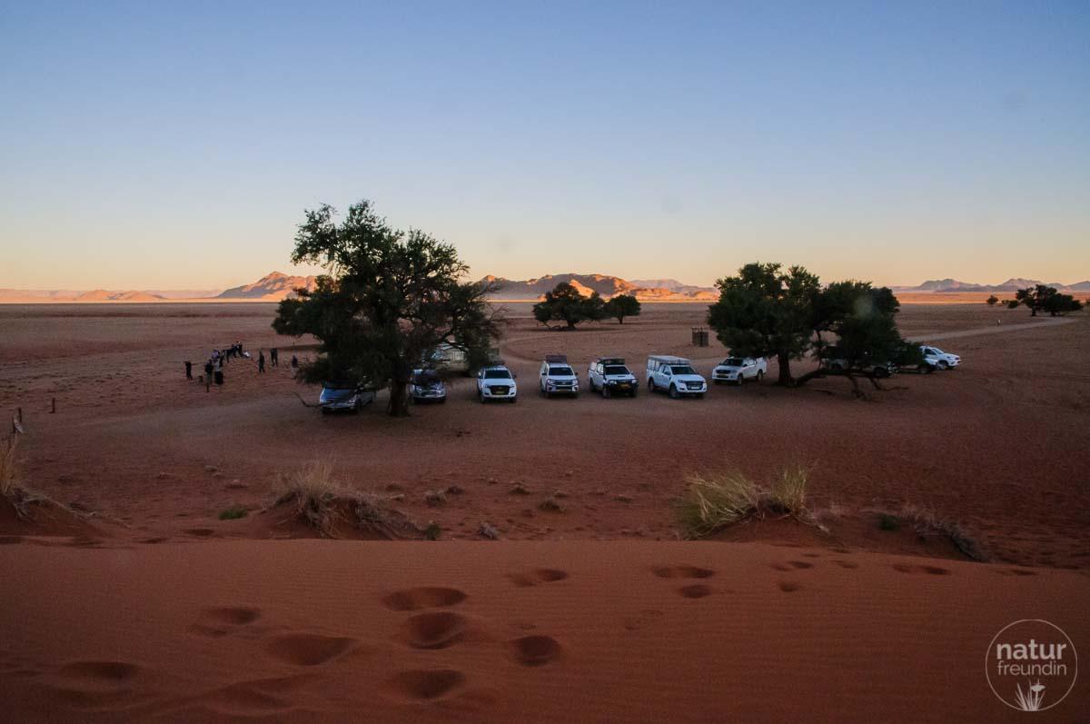 Elim Dune, Naukluft Nationalpark - Sonnenuntergang
