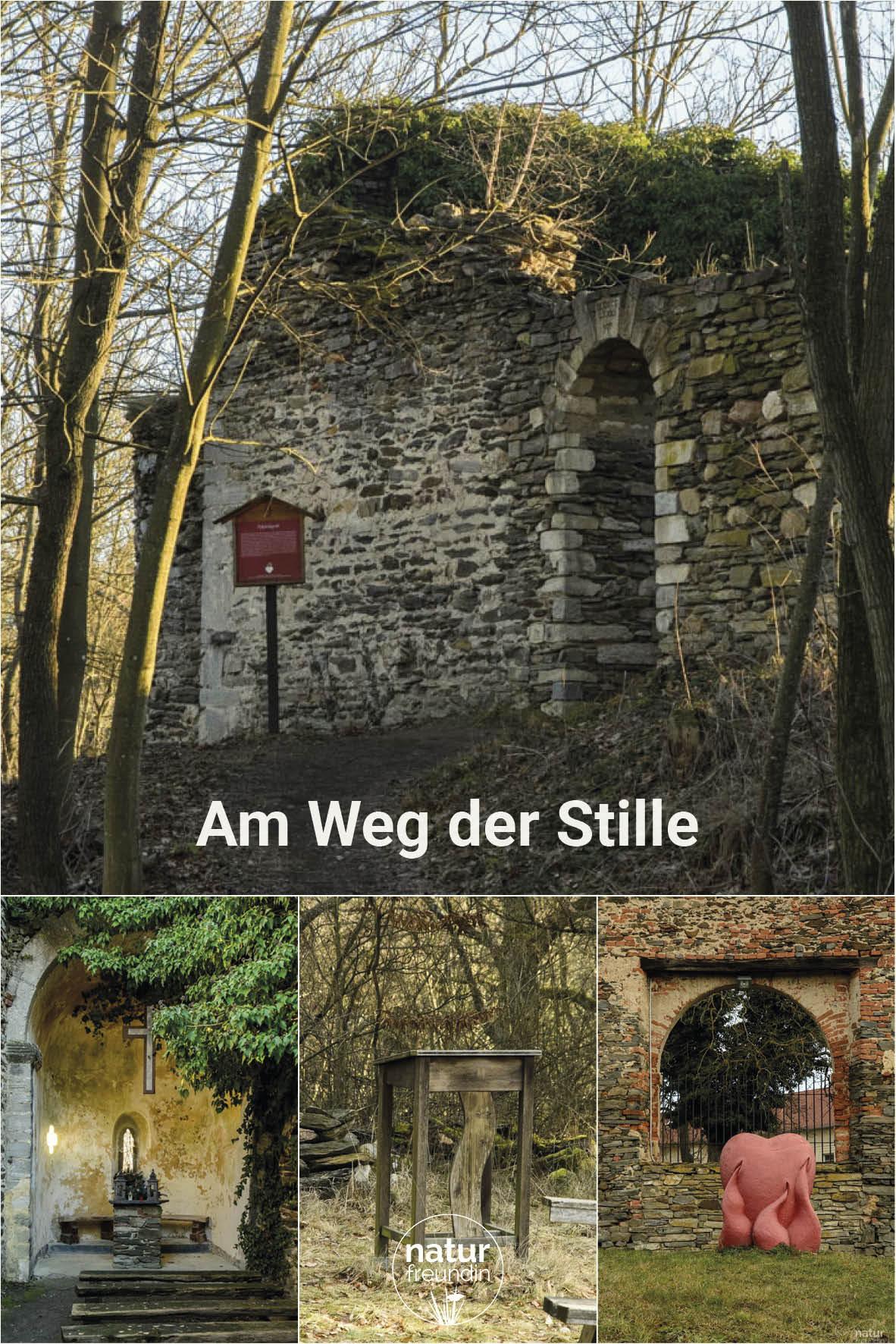 Weg der Stille beim Kloster Pernegg