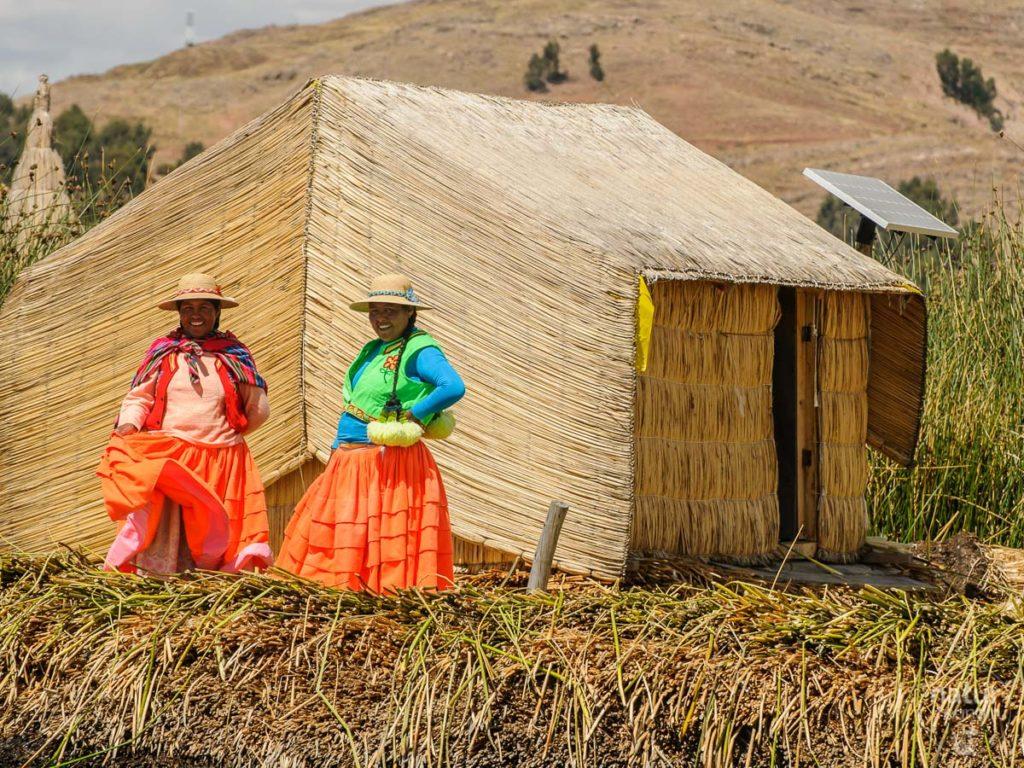 Uros am Titicaca-See